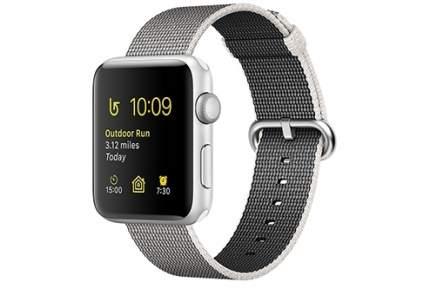 Смарт-часы Apple Watch Series 2 42mm Silver Al/Pearl (MNPK2RU/A)