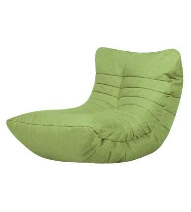 Кресло бескаркасное Папа Пуф Cocoon Chair Lime, размер L, рогожка, зеленый