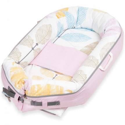 Кокон-гнездышко для новорожденных Little Vi Дерби BN-0108
