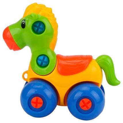 Конструктор лошадка с отвёрткой, МиниМаниЯ, РАС 15х23см, арт. М6721.