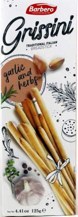 Палочки Grissini Хлебные с чесноком 125г