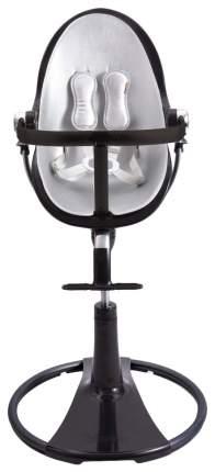Стульчик для кормления BLOOM Fresco chrome NOIR черный, вкладыш серебро