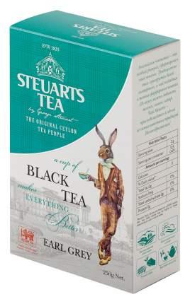 Чай черный листовой Steuarts black tea earl grey 250 г