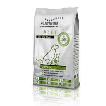 Сухой корм для собак Platinum Adult Сhicken, курица, 5кг