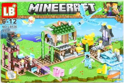 Конструктор Minecraft CoolToys Атака с воздуха 413 деталей