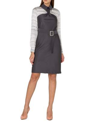 Платье женское Adzhedo 41812 серое 4XL