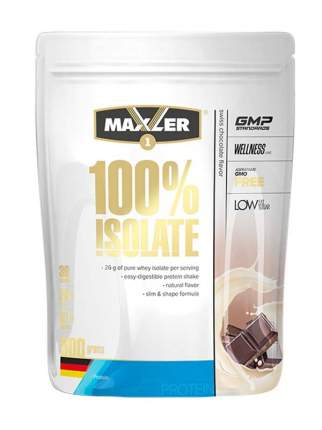 Сывороточный изолят Maxler 100% Isolate, швейцарский шоколад 30г