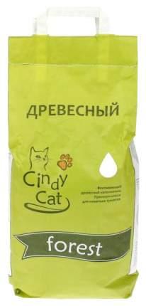 Впитывающий наполнитель для кошек Cindy Cat Forest древесный, 15 кг, 30 л