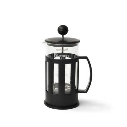 Заварочный чайник Fissman 9001 Черный, прозрачный