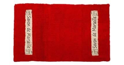Коврик для ванной Spirella Savon De Marseille Canebiere Красный