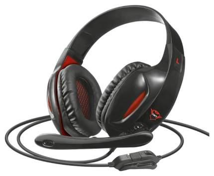 Игровые наушники Trust GXT 330XL Red/Black