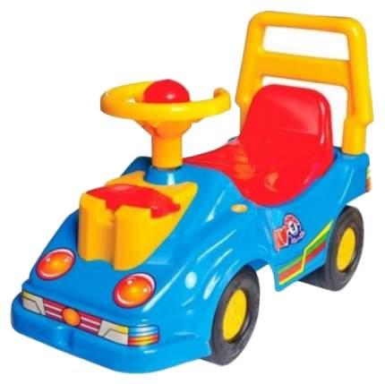 Машина-каталка с телефоном синяя Т2490Син ТехноК