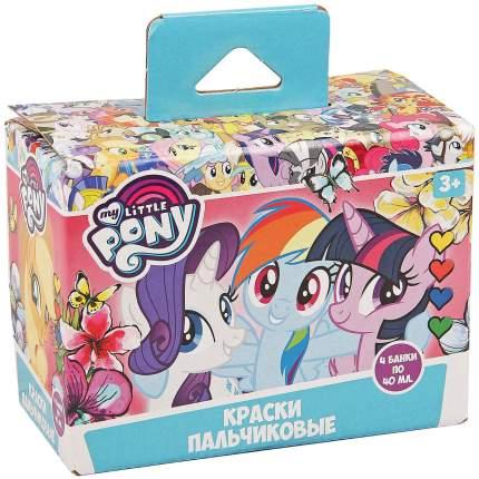 """Краски пальчиковые Centrum """"My Little Pony"""" 4 цвета по 40 мл"""