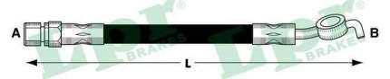 Шланг тормозной системы Lpr 6T47917