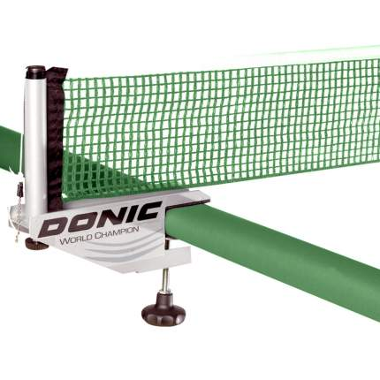 Сетка для настольного тенниса Donic World Champion зеленая