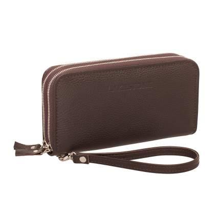 Клатч мужской кожаный Lakestone 932028 коричневый