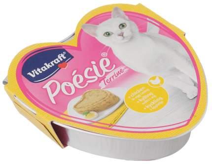 Консервы для кошек Vitakraft Poesie Terrine террин из курицы запеченный в яйце 15шт по 85г