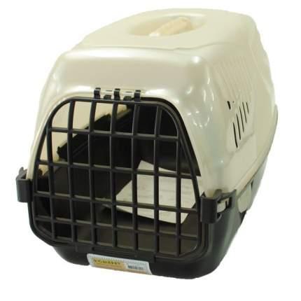 Переноска Homepet Путешественник для кошек и собак (Д 50 х Ш 33 х В 35 см, Бежевый)