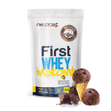 Протеин Be First Whey Instant, 900 г, milk chocolate ice-cream