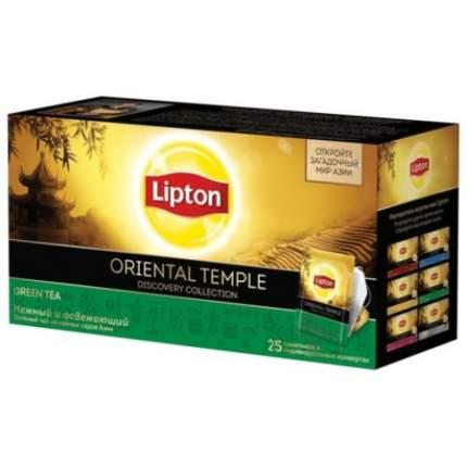 Чай зеленый Lipton oriental temple 25 пакетиков