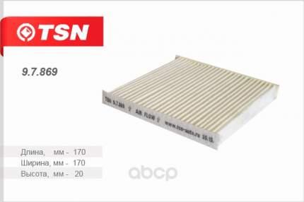 Фильтр воздушный салона TSN 97869