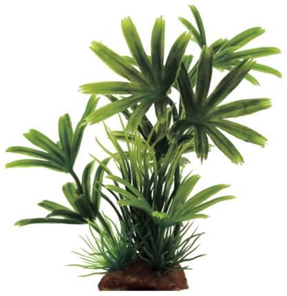 Искусственное растение для аквариума ArtUniq Bambusa green mix 15, пластик, шелк