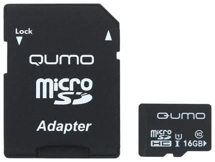 Карта памяти Qumo Micro SD QM16GMICSDHC10U1 16GB