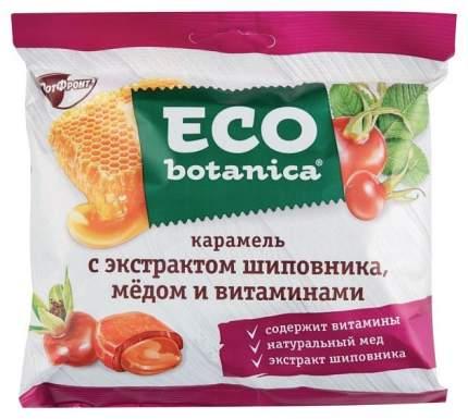 Карамель Eco botanica с экстрактом шиповника, медом и витаминами 150 г