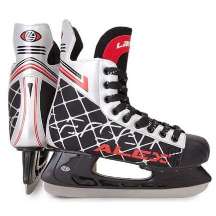 Коньки хоккейные Larsen Alex черные/белые/красные, 39