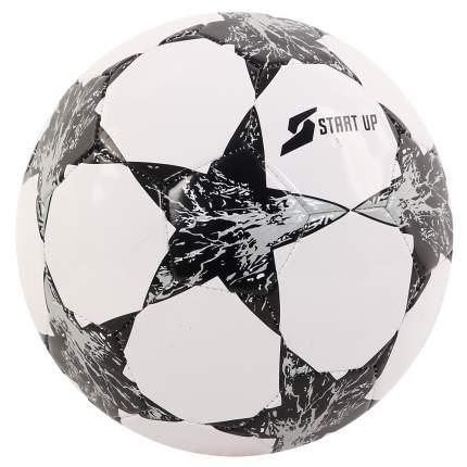 Мяч футбольный для отдыха Start Up E5121 бел/чёрн р5
