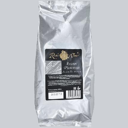 Чай Riche Nature ассам платинум черный индийский крупнолистовой 600 г