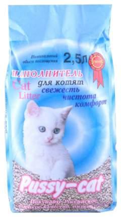 Наполнитель Pussy-Cat впитывающий океанический 2,5 л