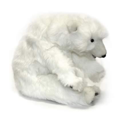 Мягкая игрушка Hansa Белый медвежонок спящий 30 см