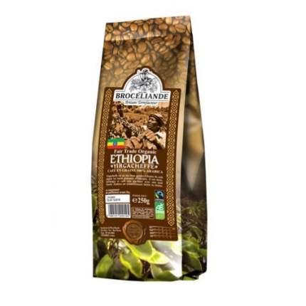 Кофе в зернах Broceliande Ethiopia yirgacheffe броселианд Эфиопия иргачиф 250 г