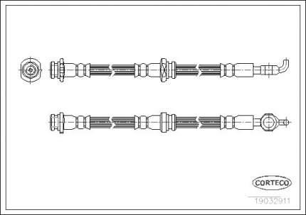 Шланг тормозной CORTECO 19032911