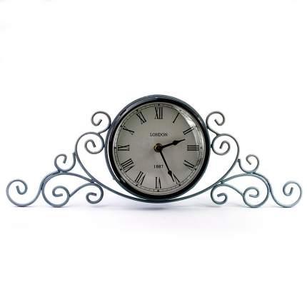 ML-5111 Antique grey Часы настольные серые (23.8x8.5x31 см.) /10
