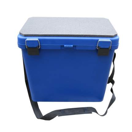 Рыболовный ящик Тонар Helios Ящик-М 19 л односекционный синий