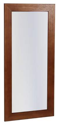 Зеркало настенное Мебелик П0001170 65х105 см, темно-коричневый