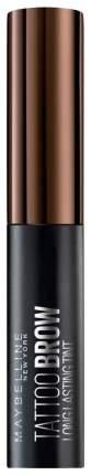 Тинт для бровей Maybelline Brow Tattoo Gel Tint тон 03 Темно-коричневый 4,6 г
