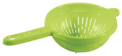 Дуршлаг Бытпласт 4312564 Голубой, желтый, зеленый, оранжевый