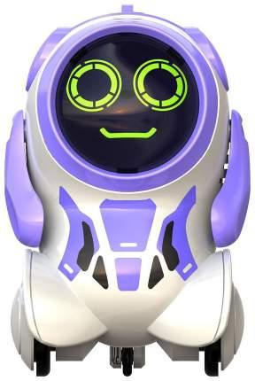 Интерактивный робот Silverlit Покибот фиолетовый, круглый