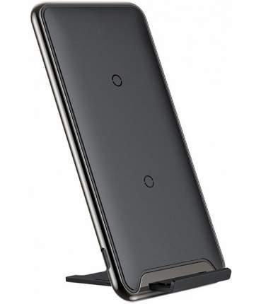 Беспроводное зарядное устройство Baseus Three-coil Wireless Charging Pad Black (WXHSD-B01)