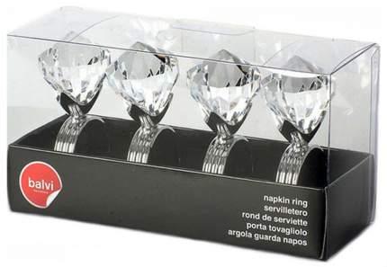 Кольцо для салфеток Balvi Diamond 4 шт