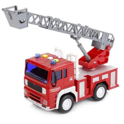 Инерционная пожарная машина (свет, звук) 1:20