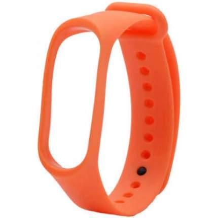 Ремешок силиконовый для Mi Band 3 Strap Orange