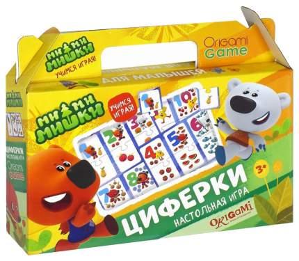 Дидактическая игра Origami МиМиМишки Циферки 03528