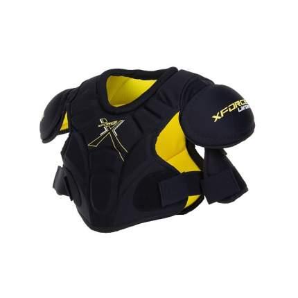Нагрудник хоккейный Larsen X-Force SP-R17.0 JR черно-желтый M