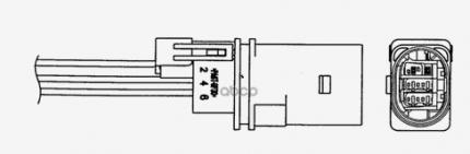 Лямбда-зонд NGK 95449