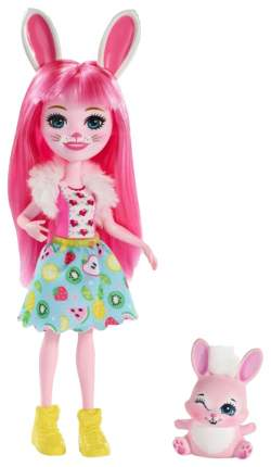 Кукла Enchantimals Mattel с питомцем Кролик Бри
