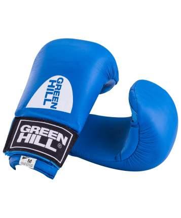 Накладки на кисть Green Hill Cobra KMС-6083, к/з, синие (S)